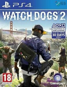 Watch-Dogs-2-For-PS4-New-amp-Sealed