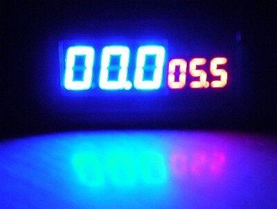 Blue/Red LED DC Voltmeter Volt Amp AUTO Panel Meter Multimeter Shunt 500V 100A