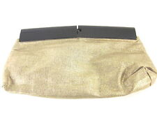 FOLEY + CORINNA WOMEN'S FASHION CLUTCHABLE CLUTCH, GOLD LINEN, ONE SIZE