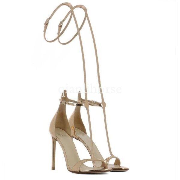 Sexy womens open toes stilettos high heel summer roman sandals sandals sandals shoes gold shoes f5ea10
