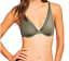 Body Soft The Elle Uk Underwire Macpherson Size 32c Plunge Bra Green nOvymN08w