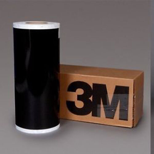 3M Scotchlite 580 Reflektierendes Band Pferd Box Anhänger Reiter Black //
