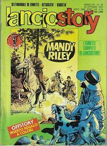 lanciostory anno VII n.42 26 ottobre 1981- mandy riley