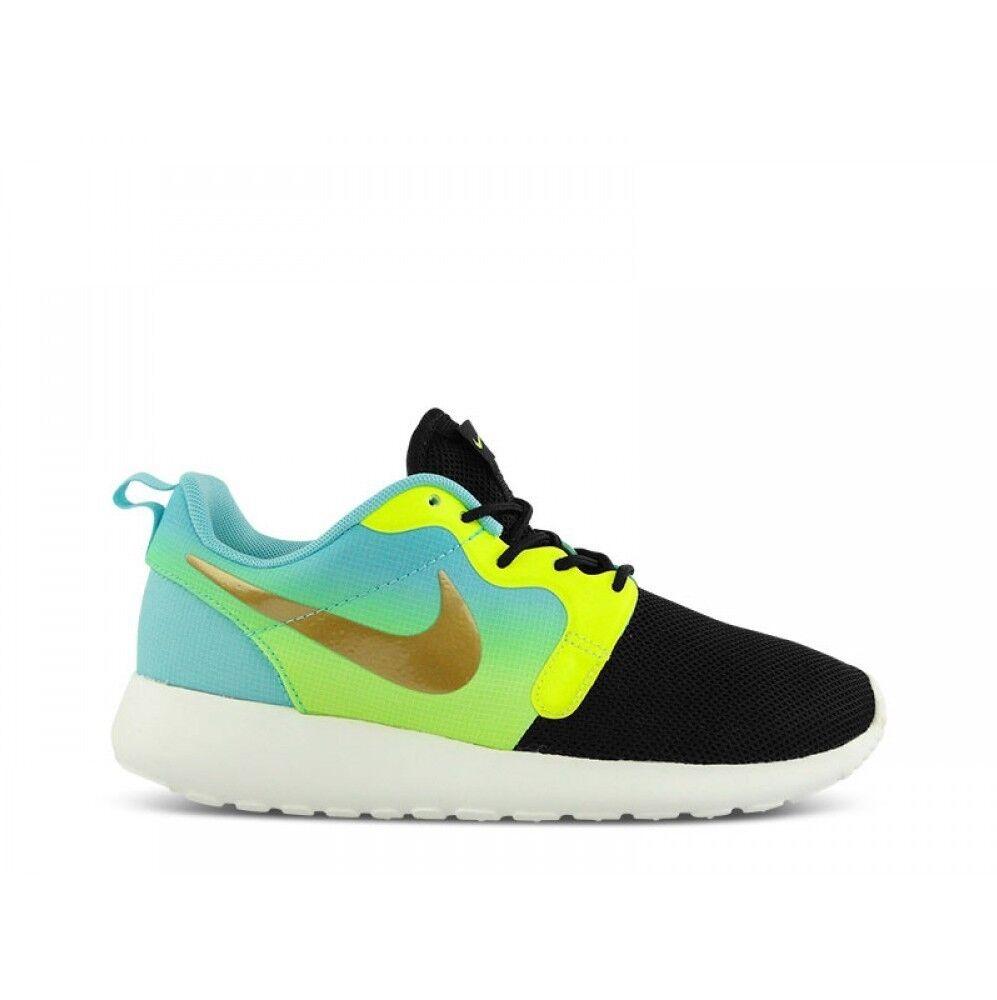 Wmns Nike Roshe Run Hyperfuse Prm QS Reino Unido 6 Magista Oro Metálico 677308 00