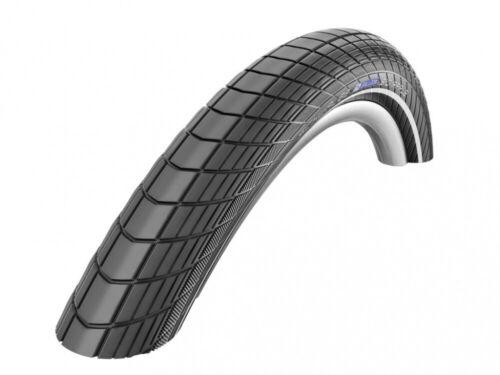 "Schwalbe Big Apple Fahrrad Reifen HS430 20x2.00/"" 50-406 sw-LiteSkin Reflex RG E"