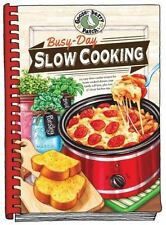 """2016 GOOSEBERRY PATCH BUSY DAY SLOW COOKING, CROCK POT RECIPES, """"New"""""""