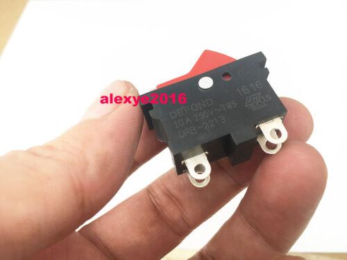 1 pieces Defond DRB-2213 Rocker Power Switch Push plot 4 broches