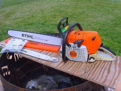 dde17b920d4 Stihl MS441 Magnum Chainsaw - STARTS   RUNS GREAT - 71CC Saw - 25 ...