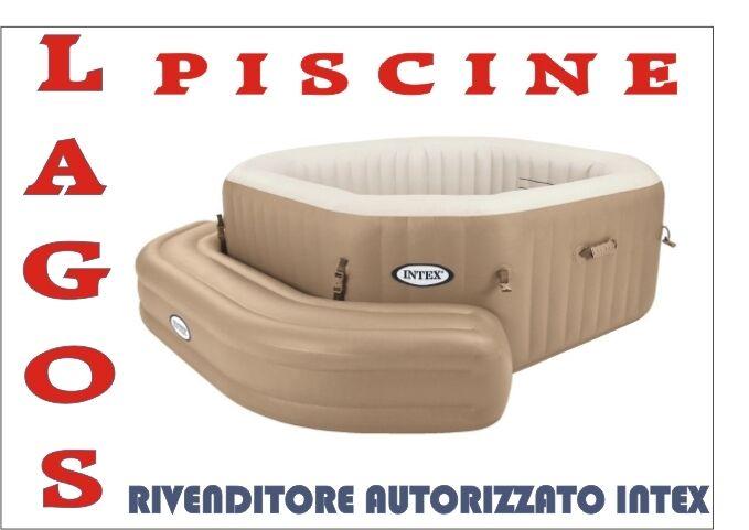 negozio online outlet Panca Gonfiabile Per Piscina Piscina Piscina Idromassaggio Per SPA Ottagonale INTEX cod. 28509  Prezzo al piano