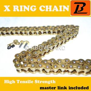 520 Gold O-Ring Chain 92 Links Yamaha YFM660 Raptor 660 2001-2005 2002 2003 2004