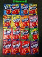 150 Packs Of Kool Aid Drink Mix Packets Gluten Free Free Ship - You Pick Em