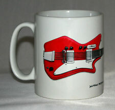 Guitar Mug. Jack White's Airline JB Hutto illustration.