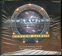 Stargate Tcg System Lords Booster Box Sealed