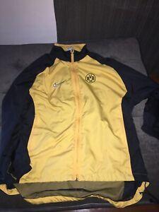 Nike Premier Vtg Borussia Dortmund 95 96 Soccer Windbreaker Jacket Large Ebay