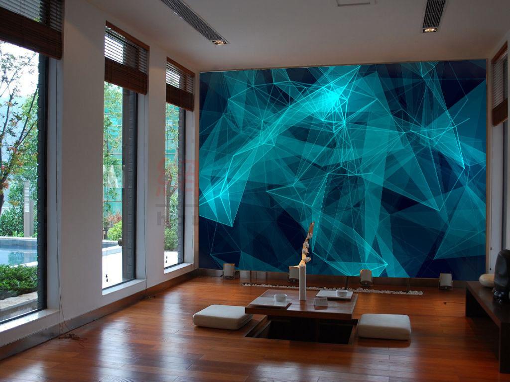 Papel Pintado Mural De Vellón Geometría Imagen 2 Paisaje Fondo De Pansize ES AJ