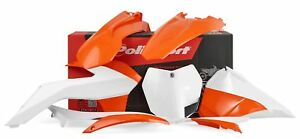 Polisport Kit Habillage Orange/Blanc Ktm HT 300 2T Sixdays 2014-2015