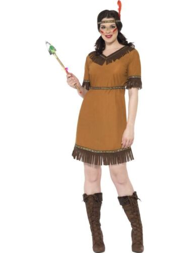 cowboy e indiani Costume Costume da fanciulla indiana