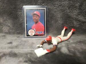 1990 MLB Starting Lineup VINCE COLEMAN Cardinals Figure Cards Head First Slide