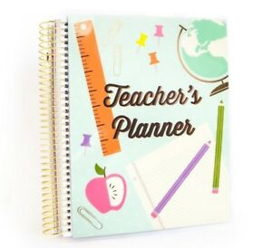 Details about Michaels Recollections Creative Year Spiral TEACHER's Planner  12 Months UNDATED