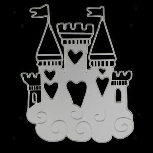 Castle Cutting Dies Stencil for DIY Scrapbooking Album Paper Card Making