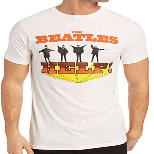 THE BEATLES Men/'s Help Soft Slim Fit T-SHIRT NEW S M L XL XXL official