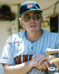 TOM-KELLY-SIGNED-AUTOGRAPHED-8x10-PHOTO-MINNESOTA-TWINS-PSA-DNA