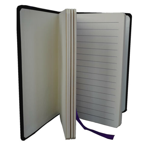 A6 Notebook 192 Pages Fashion Notes 80gsm Cream Paper Line Page