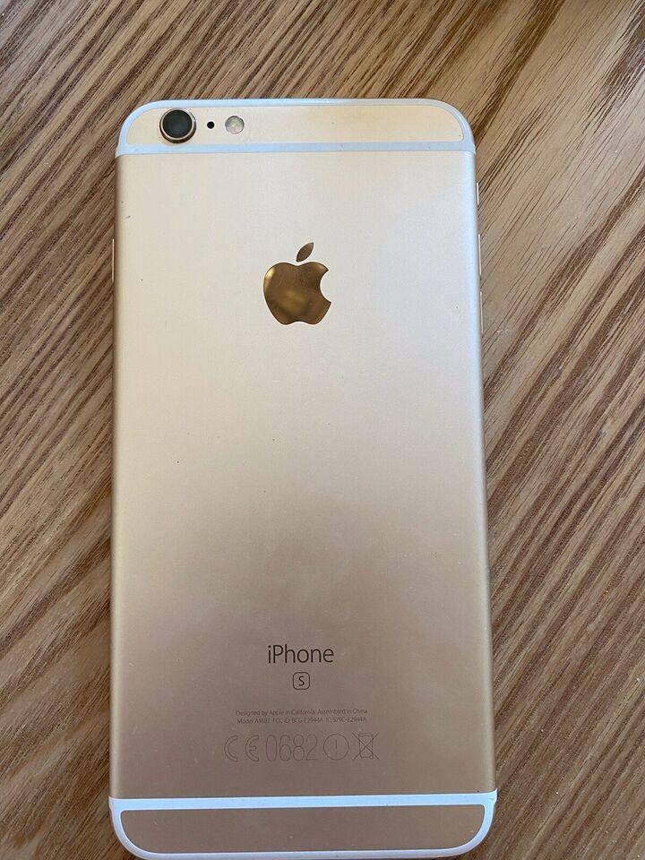 iPhone 6S Plus, 32 GB, guld