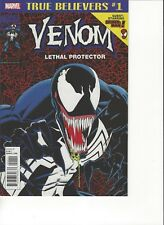 Venom Comic Issue 1 Lethal Protector Classic Reprint True Believers 2018 Marvel