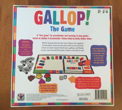 GalopeEl Butler Scanimation Seder Ages juego 812754011955 Rufus 3