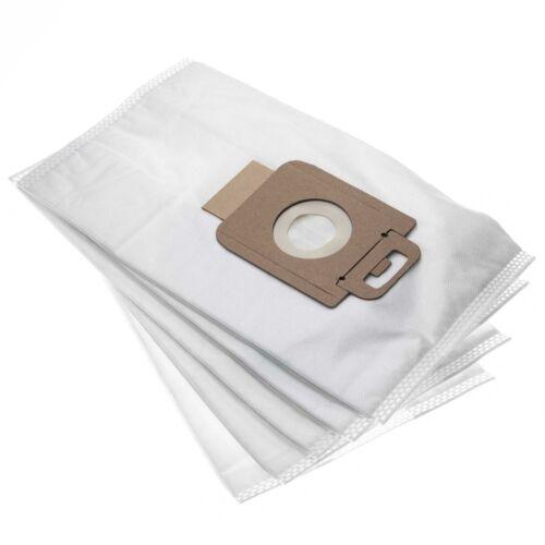 128389187 5x Dust bags microfleece for Nilfisk 107407639