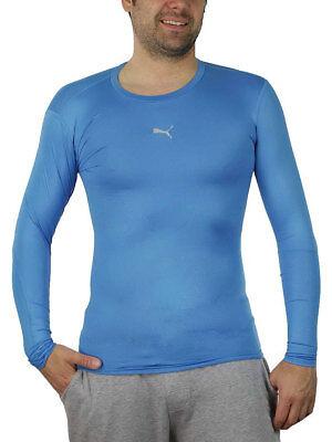 PUMA Herren T Shirt PB Core Long Sleeve Kompressionsshirt