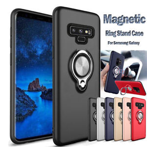quality design bdc9e 1a139 Armor Magnetic Car Holder Finger Ring Case Cover For Samsung Galaxy ...