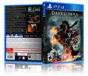 Darksiders: Warmastered Edition - ReplacementPS4 Cover and Case. NO GAME!!