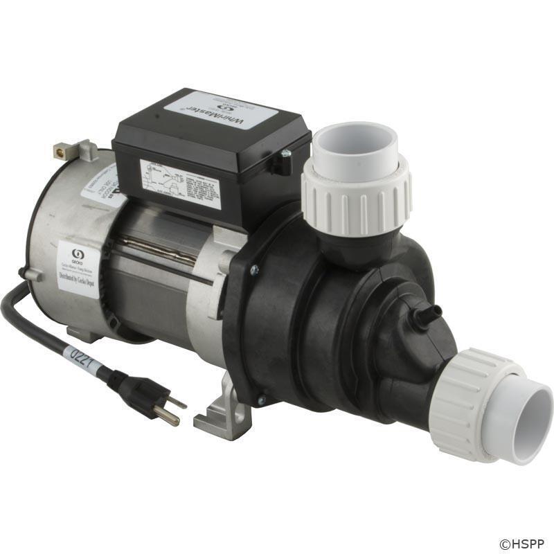 Aquaflo - Whirlmaster Bath Pump, 1.5hp, 115v, 1-spd, Air Switch - 04215002-5010