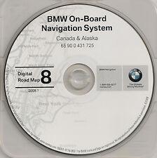 1997 to 2002 BMW 3 5 7 Series X5 M3 M5 & Mini Navigation CD Map CANADA 08 Update