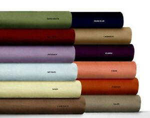 "Egyptian Cotton Sheet Set All Size & All Color 800 Thread Count 4 PCs 12"" Drop"