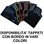 TAPPETI Tappetini su Misura SMART FORTWO W450//W451 1998/>2014 Bordo Rosso