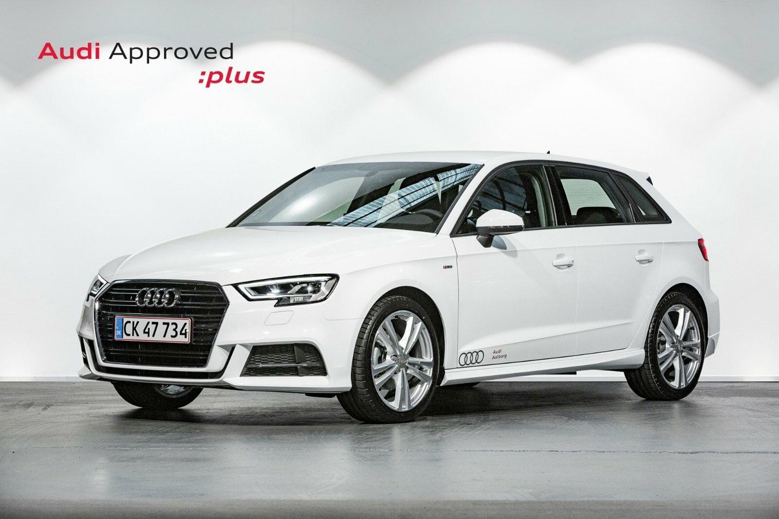 Audi A3 35 TFSi Sport Limited SB S-tr. 5d - 325.000 kr.
