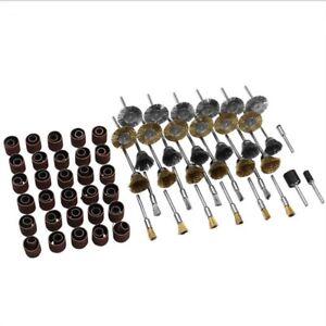 132 pc Drehwerkzeug Schleifset Zubehör Set Schleifen Polieren Passend Bits