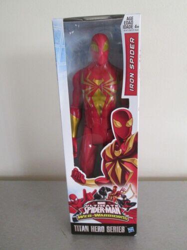 "Marvel Ultimate Spider Man Titan Hero Series 12/"" Iron Spider"