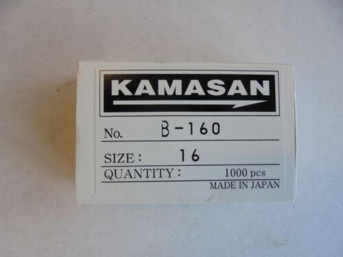 kamasan b160 fly tying and bait hooks x 100 size 16.