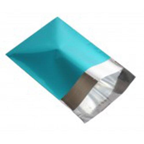 "25 lamina metallica Turchese mailing affrancatura postale sacchetti 4,7 /""x6.5/"""