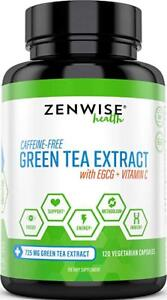 Green Tea Extract Supplement with EGCG and Vitamin C - Antioxidants and for
