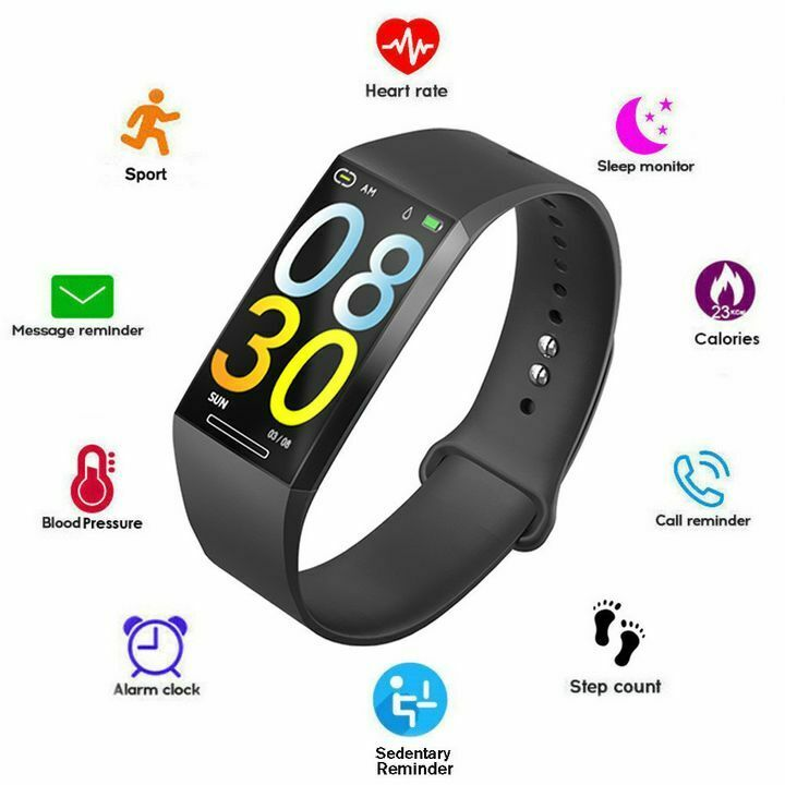 Smart Watch Fitness Tracker Sport Bracelet Call/Message Reminder for iOS Android android bracelet Featured fitness for ios reminder smart sport tracker watch
