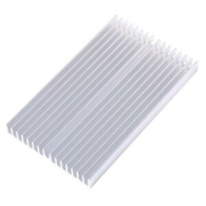 Aluminum Radiator Extruded For Amplifier For LED For Transistor High Quality New