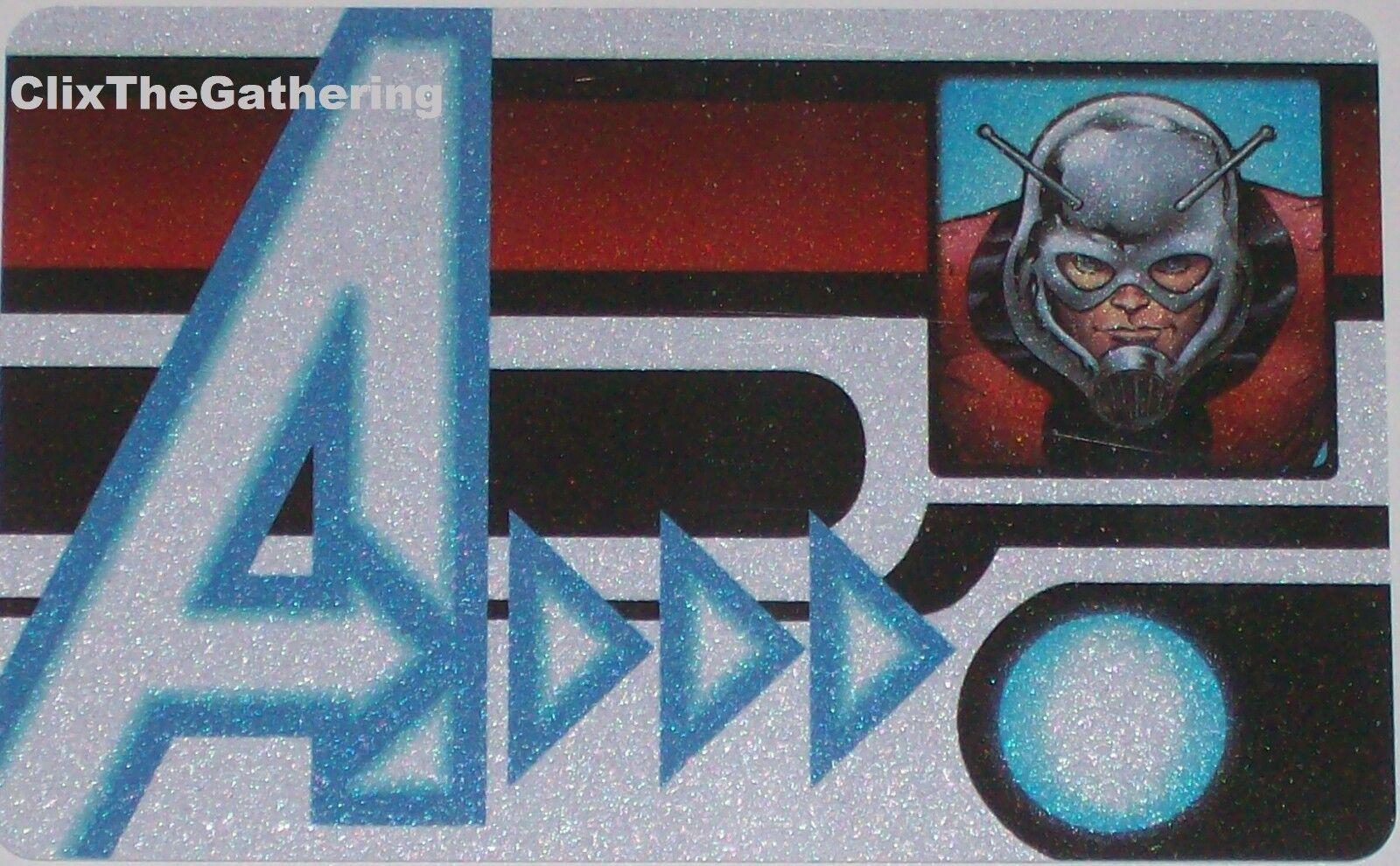 MVID-001 ANT-MAN(SCOTT LANG) ID CARD Promotional Exclusive Marvel Heroclix