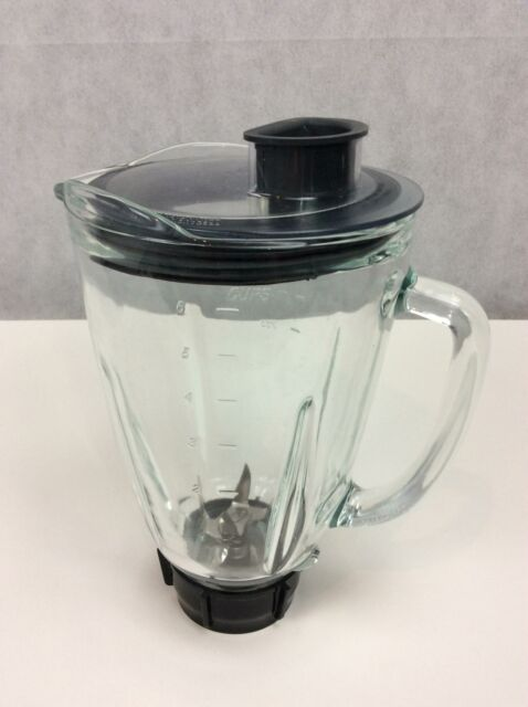 Glass Jar for Oster BRLY07 B00 NP0 B 7 Speed Fusion Blender, Black