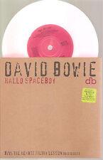 """DAVID BOWIE """"Hello Spaceboy"""" pink 7"""" Vinyl Single"""