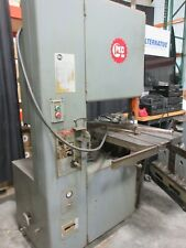 Used Grob 4v 24 Vertical Bandsaw Metal Cutting Saw With Blade Welder